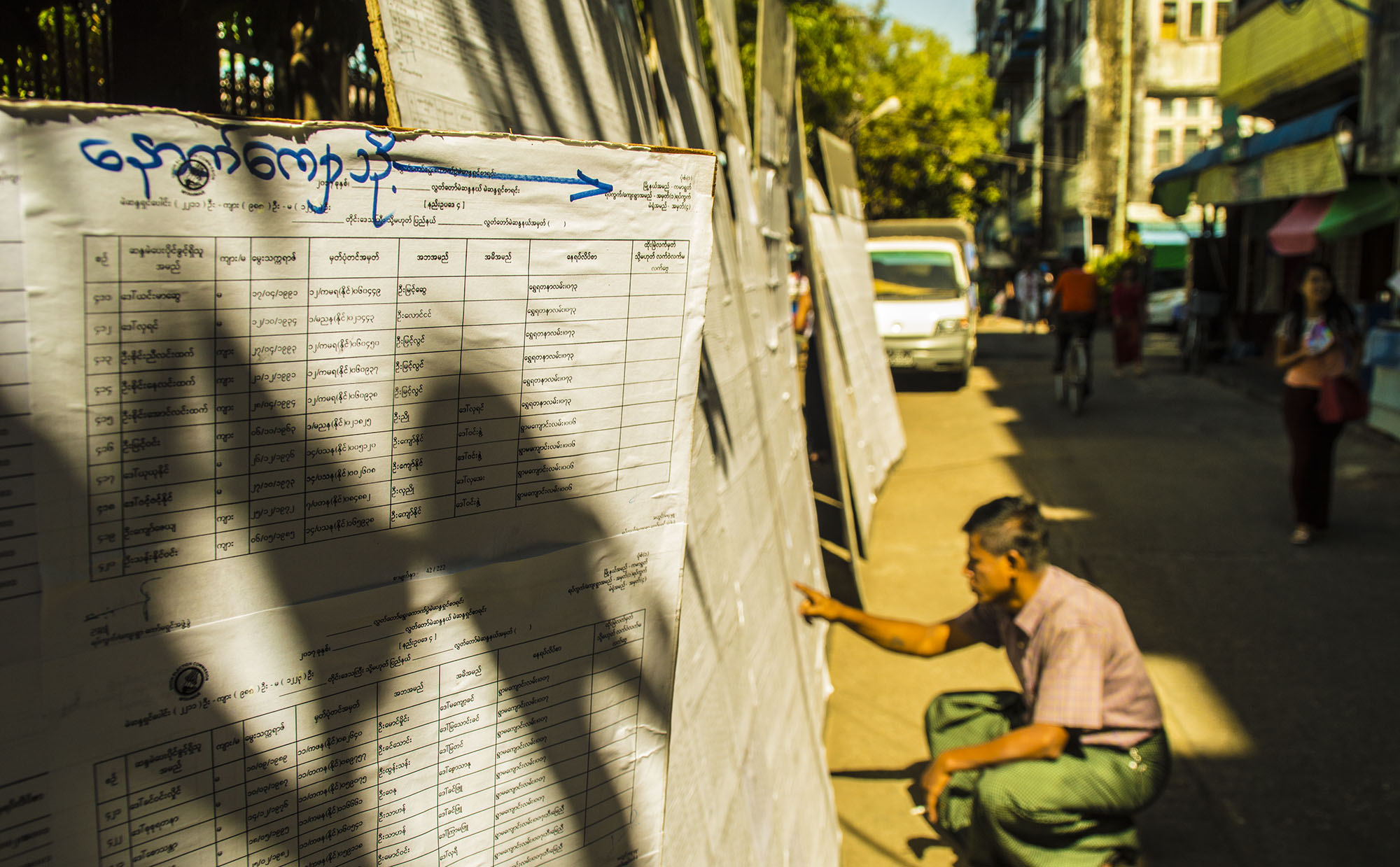 Voter List Display Observation