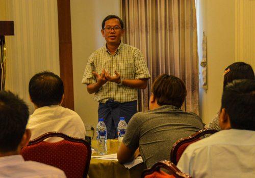 ၂၀၁၇ ကြားဖြတ်ရွေးကောက်ပွဲ ကာလတိုစောင့်ကြည့်လေ့လာရေးအတွက် ဆရာဖြစ်သင်တန်း