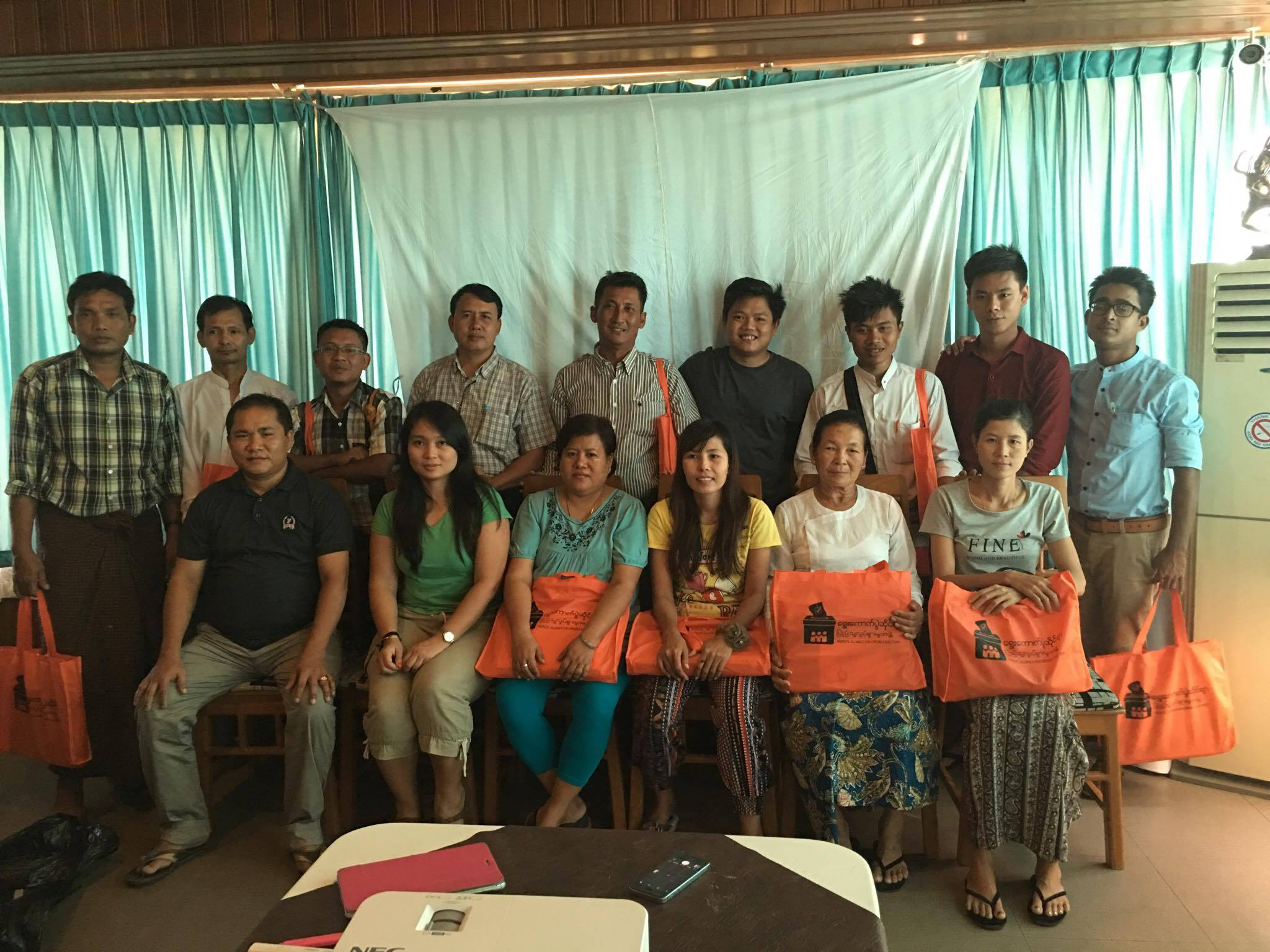 Enumerator Training (Sittwe)