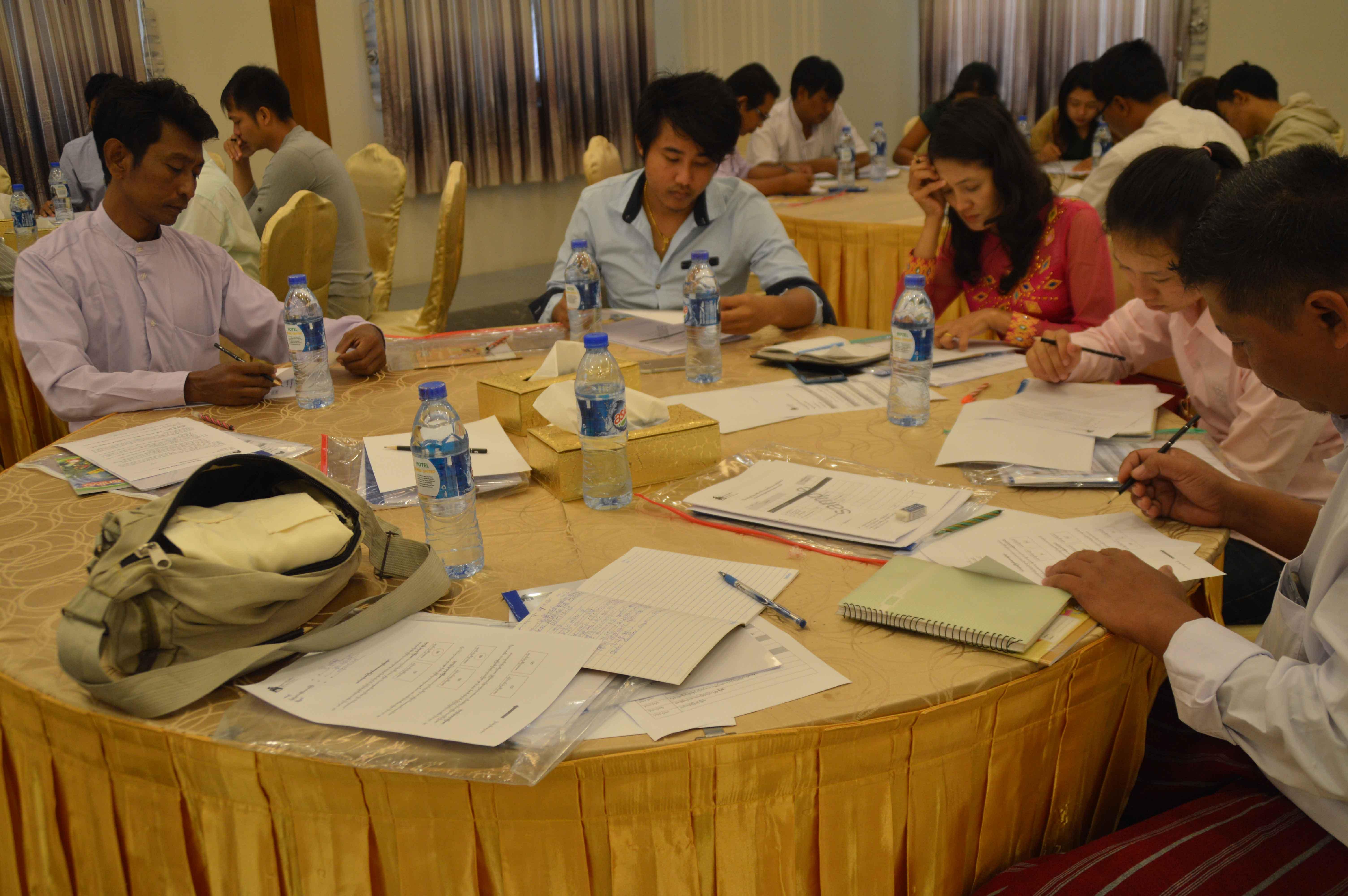 Yangon Training (Spot-Checker Training)