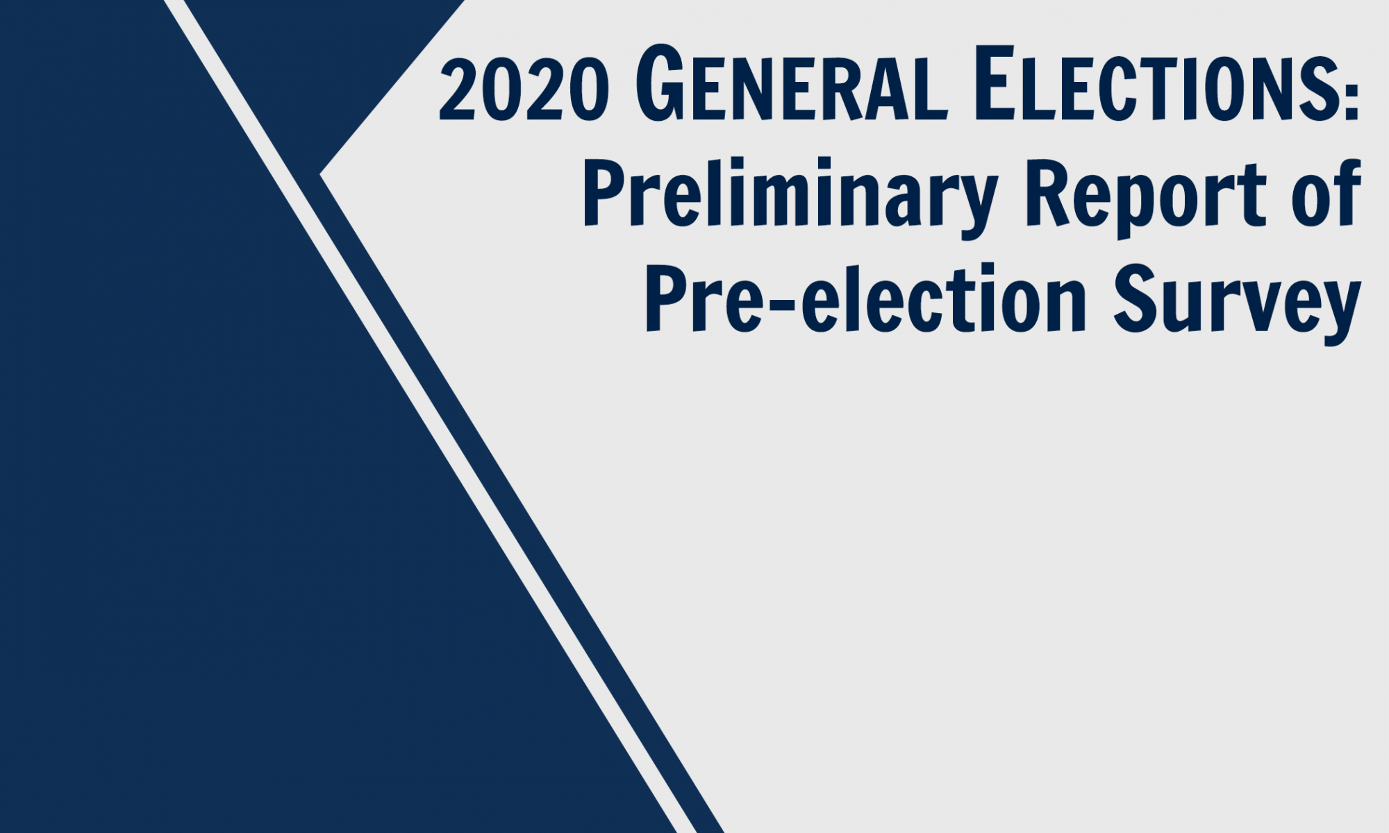 2020 Pre-election Survey Cover Eng