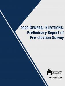 2020 Pre-election Survey Cover