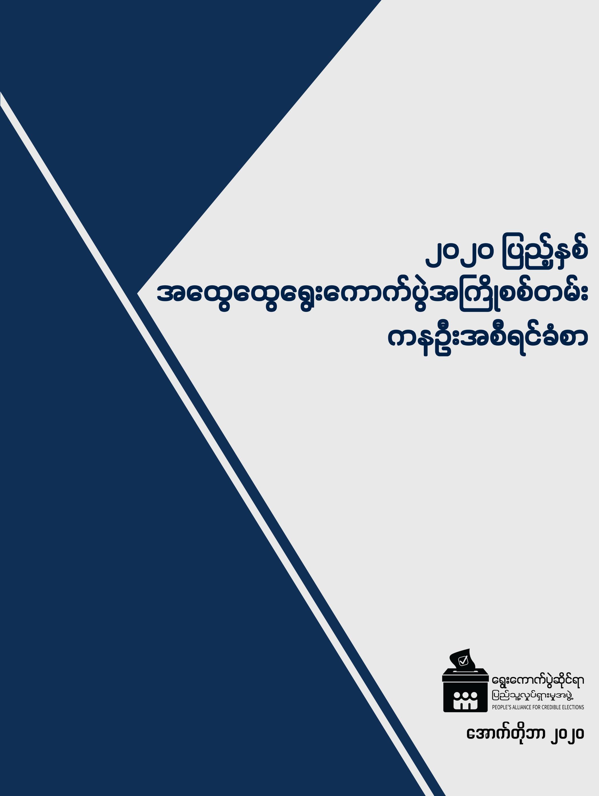 Pre-election Survey Cover MM